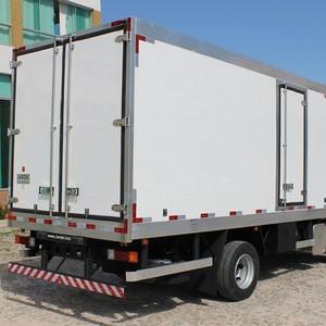 Caminhão bau frigorifico gancheiro